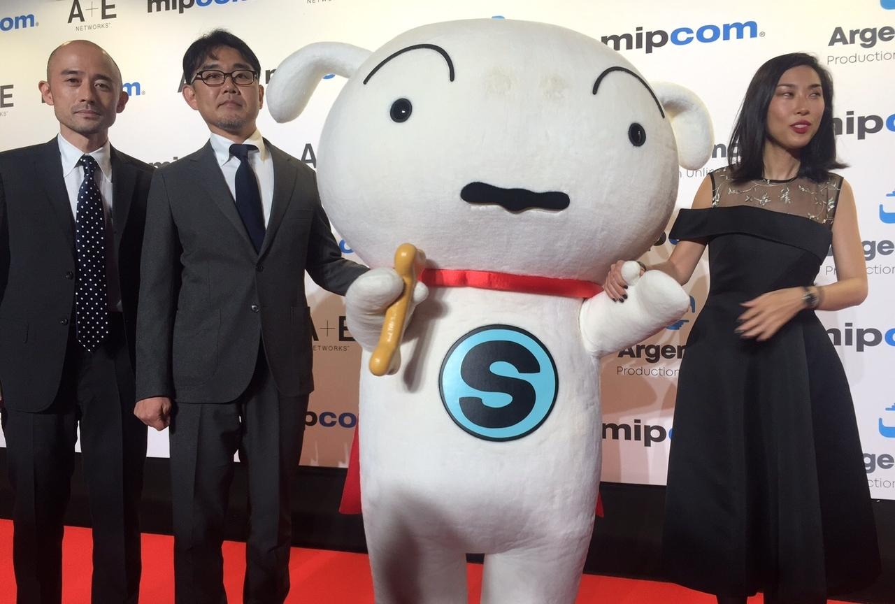 『クレヨンしんちゃん』人気キャラクター・シロが『SUPER SHIRO』で世界デビュー