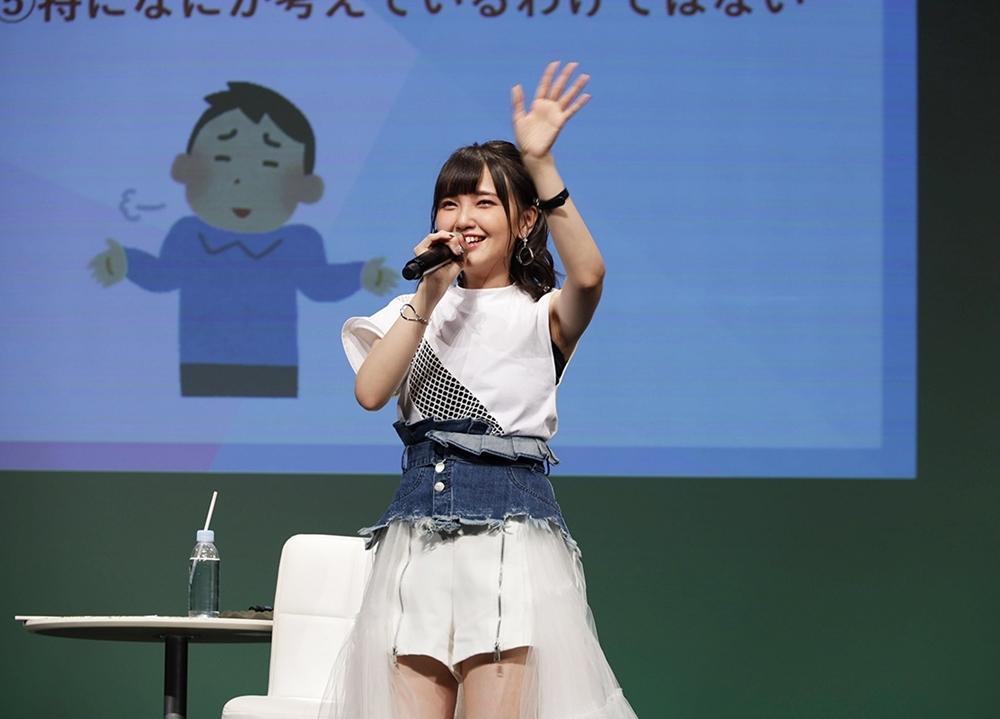 鬼頭明里デビューシングルのリリースイベントの公式レポート到着
