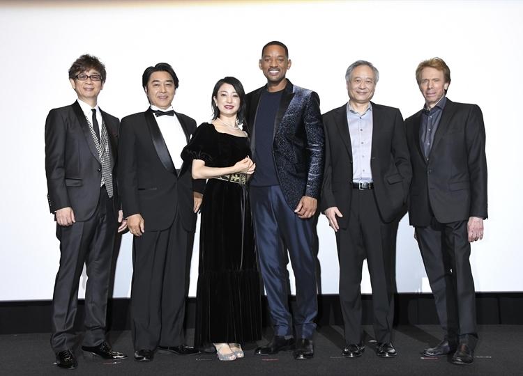 ウィル・スミス主演映画『ジェミニマン』ジャパンプレミア公式レポ到着