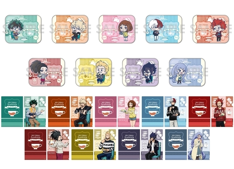 『ヒロアカ』お茶会グッズがアニメイトオンラインで予約受付中