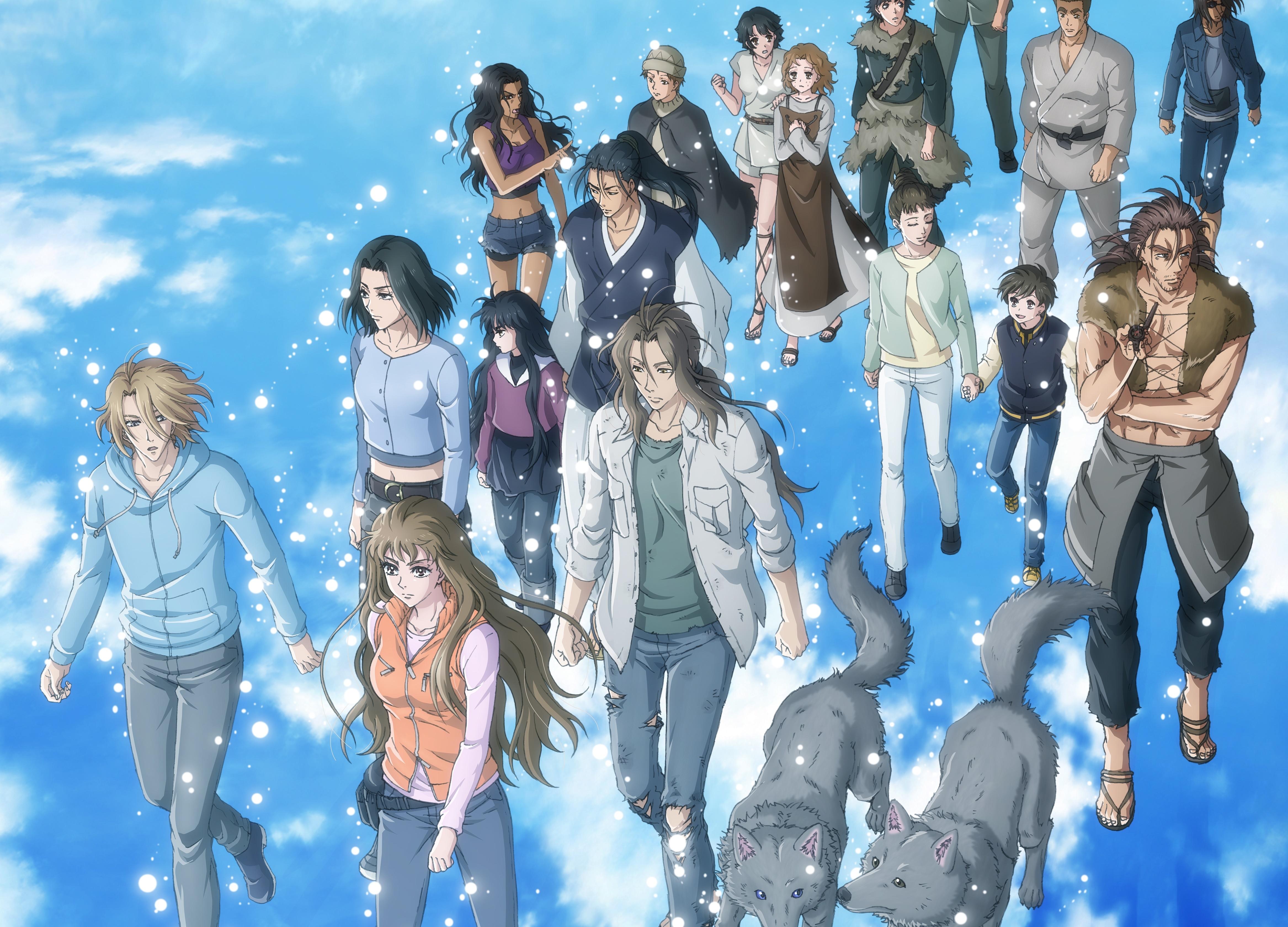NETFLIXアニメ『7SEEDS』第2期制作&第1期TV放送決定