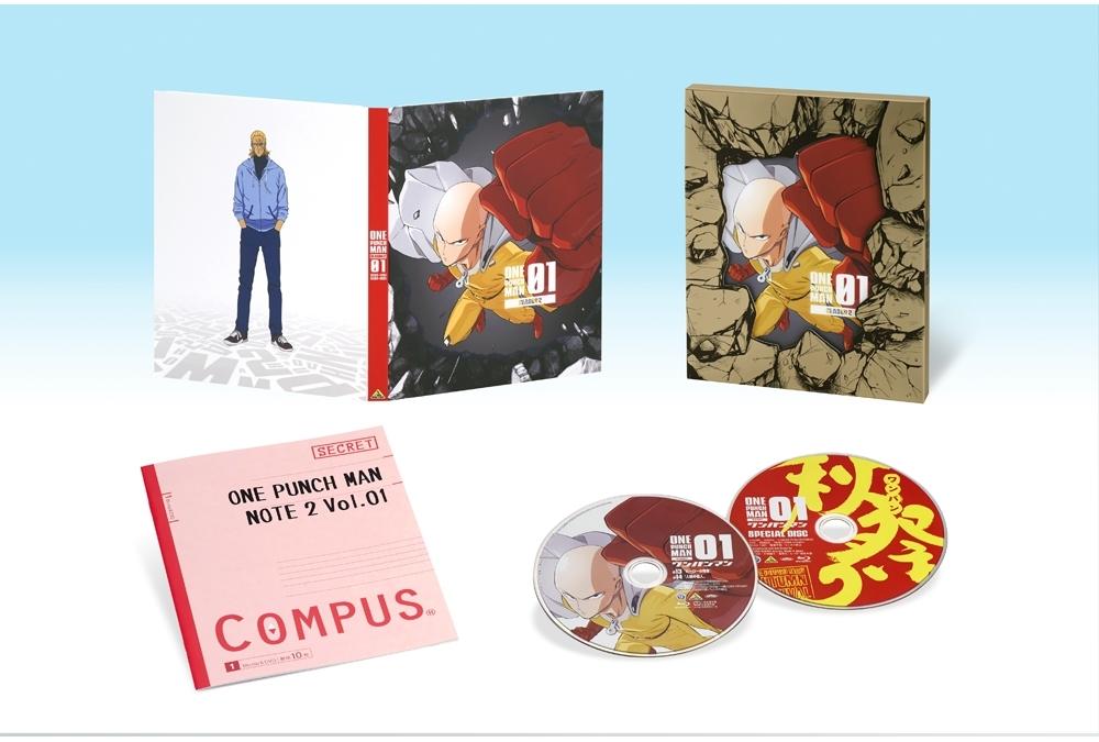 TVアニメ『ワンパンマン SEASON 2』BD&DVD第1巻 10月25日 発売