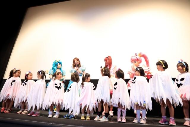『映画スター☆トゥインクルプリキュア 星のうたに想いをこめて』成瀬瑛美さん&小原好美さんが豪華ドレスで登場! もう一度映画を観る方へのオススメポイントは?