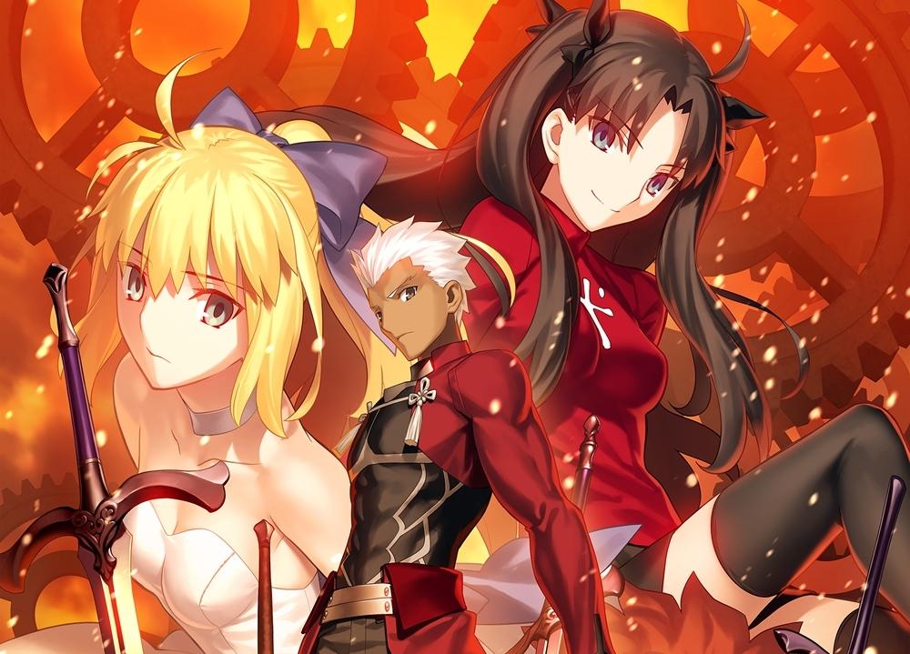 『Fate/stay night [UBW]』BD Box よりジャケット解禁!