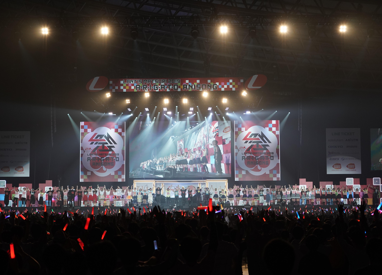 「ランティス祭り2019」1DAY3 CSテレ朝チャンネルにて10月27日放送
