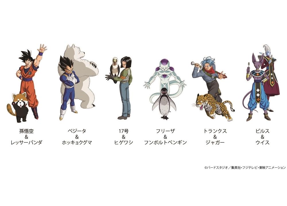 『ドラゴンボール超』の動物園コラボが11月2日スタート!