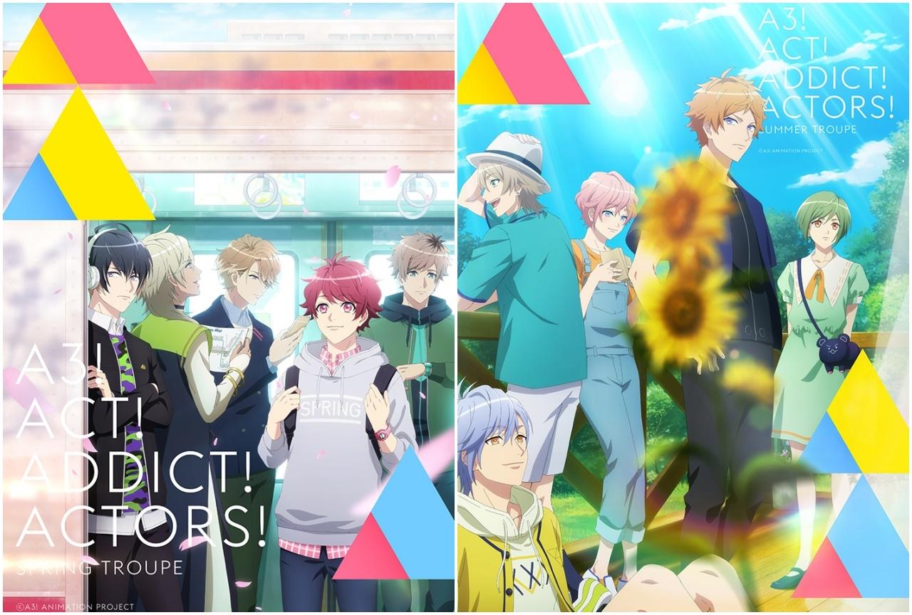 TVアニメ『A3!』SEASON SPRING&SUMMERの放送日が決定!
