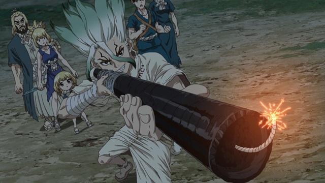 TVアニメ『Dr.STONE』より、第18話「STONE WARS」あらすじ&先行場面カット到着!-1