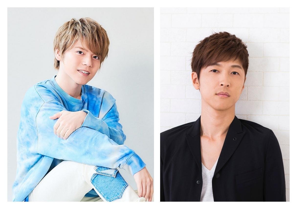 ▲(左)内田雄馬さん (右)櫻井孝宏さん