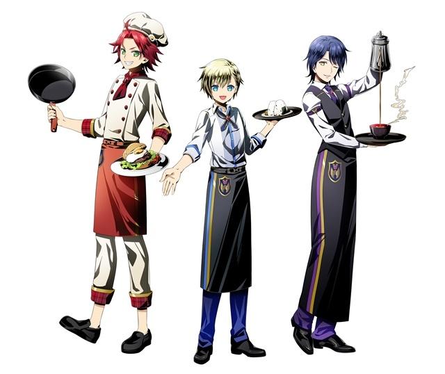 TVアニメ『アイドルタイムプリパラ』の男子アイドルチーム「WITH」初のコラボフェア&カフェが開催! カフェをコンセプトにした描き下ろしイラストも公開-3