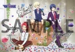 TVアニメ『アイドルタイムプリパラ』の男子アイドルチーム「WITH」初のコラボフェア&カフェが開催! カフェをコンセプトにした描き下ろしイラストも公開-5