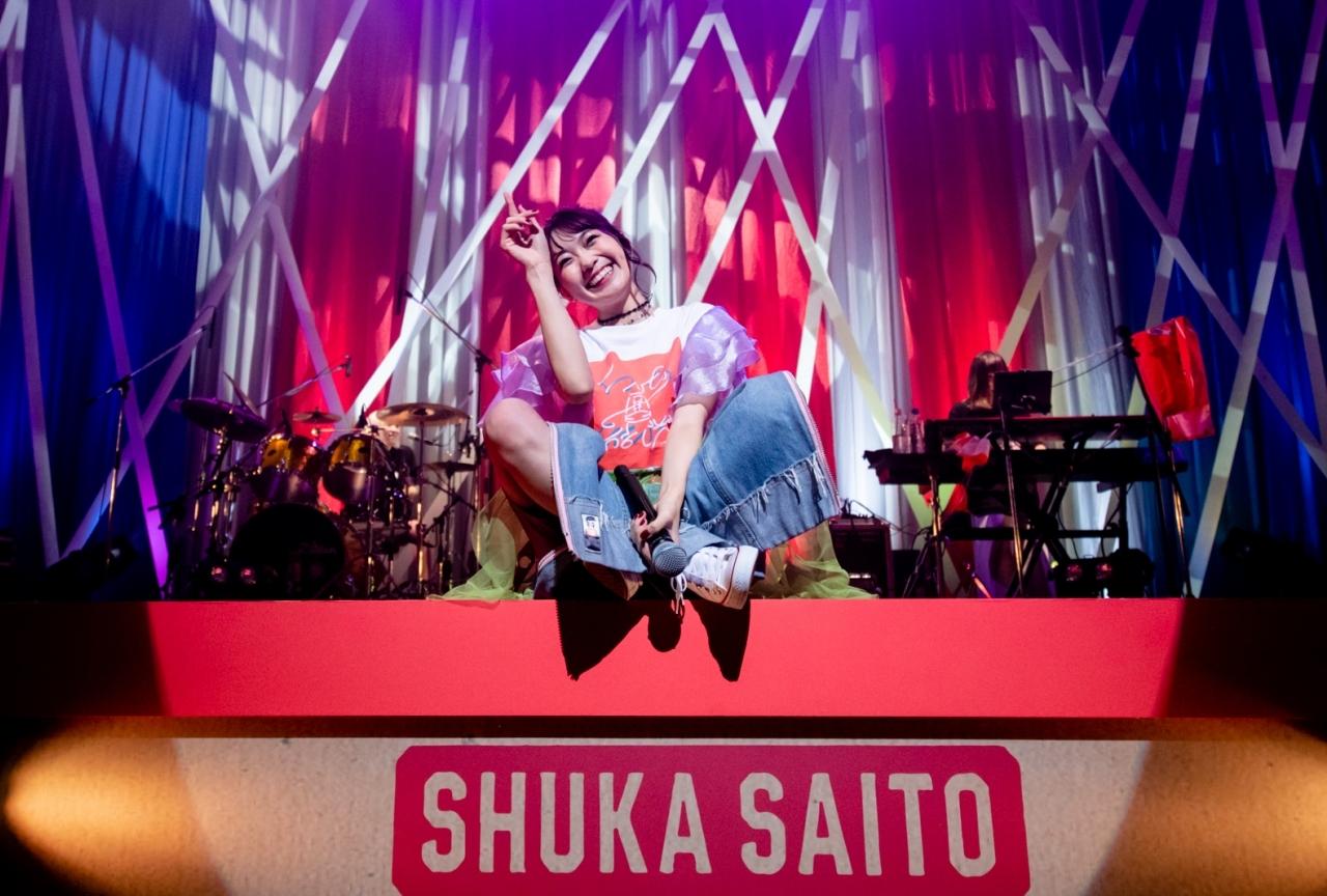 斉藤朱夏の初ワンマンライブで東名阪Zeppツアーを発表!