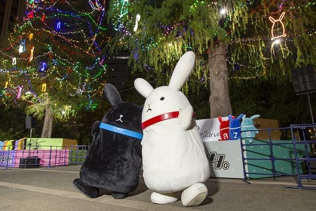 AGF10周年記念! 『ツキウタ。』コラボイルミネーションツリーが東池袋中央公園に点灯中!