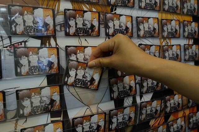【AGF2019】YELLOW AREA:Y-35「フロンティアワークス新規プロジェクト」ブースで、千葉翔也さん、榎木淳弥さんら人気若手男性声優8人の音声ドラマが入った新プロジェクト特製ノベルティをゲット!
