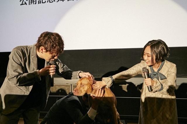 映画『ベラのワンダフル・ホーム』公開記念舞台挨拶オフィシャルレポート到着! 悠木碧さん、木村良平さんが登壇