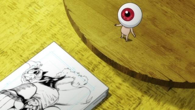 『ゲゲゲの鬼太郎』第81話「熱血漫画家 妖怪ひでり神」より先行カット到着! ひでり神(CV:江原正士)は、自分で描いた漫画を出版社に持ち込むが……-4