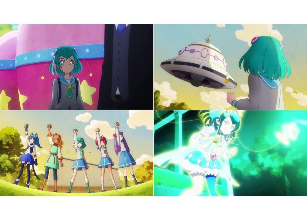 『スタプリ』第40話「バレちゃった!?2年3組の宇宙人☆」より先行カット到着!