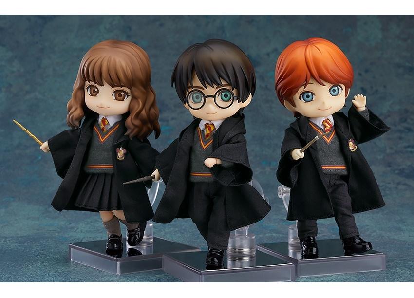 『ハリー・ポッター』ハリー、ハーマイオニー、ロンがねんどろいどどーる化
