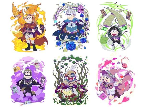 劇場版『えいがのおそ松さん』×TVアニメ『ブラッククローバー』のスペシャルコラボビジュアル第二弾が公開!