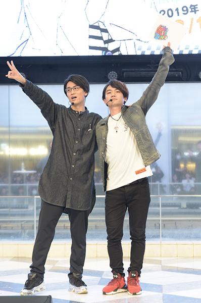 花江夏樹さんと西山宏太朗さんのコンビネーションが光る&まさかの新ネタ披露で大盛り上がりの『GET UP! GET LIVE!(ゲラゲラ)』AGFキャスト特別ステージをレポート!