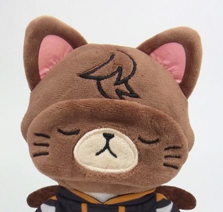 人気シリーズ「withCAT」と『グランブルーファンタジー』がコラボ! アイマスク付きぬいぐるみキーホルダーが発売決定-6