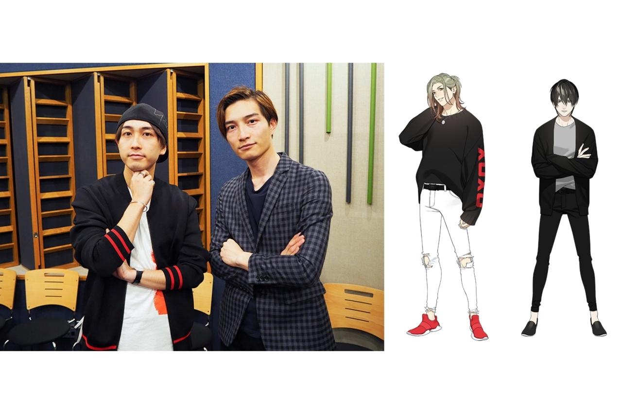 『ツキプロ』ユニット「帷」の中島ヨシキ&住谷哲栄よりインタビュー到着