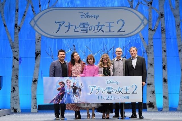 『アナと雪の女王2』日本のアナ役・神田沙也加さん、監督との再会に感涙! 世界で唯一のアナ雪2メドレー披露に大感激-1