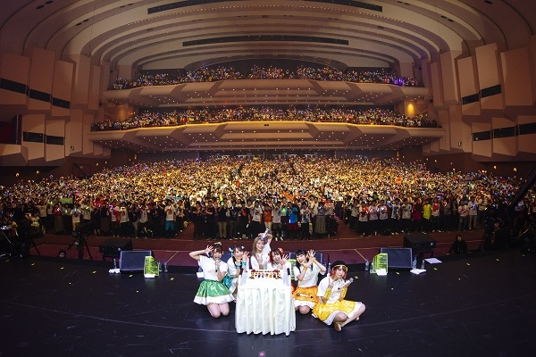 ▲「i☆Ris 7th Anniversary Live ~七福万来~」より集合写真到着!