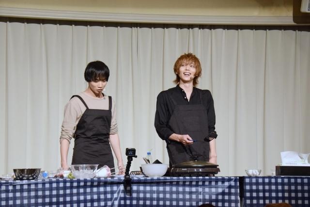 染谷俊之さんと植田圭輔さんがホットケーキ作りにチャレンジ! 『たびメイト Season2』ファンミーティング【第1部】をレポート