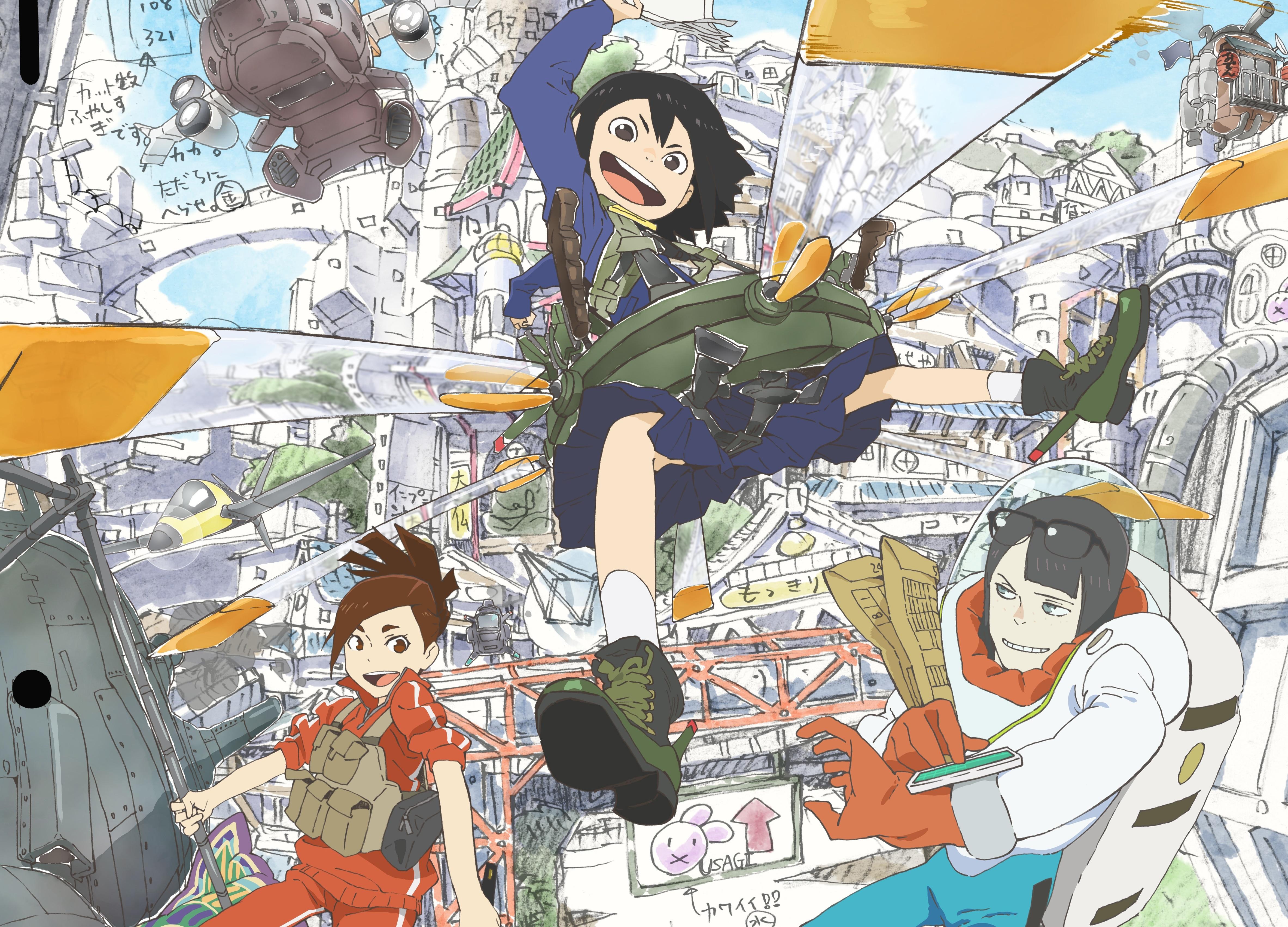 TVアニメ『映像研には手を出すな!』2020年1月5日 放送開始
