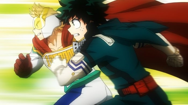 僕のヒーローアカデミア(第4期)第7話GO!!