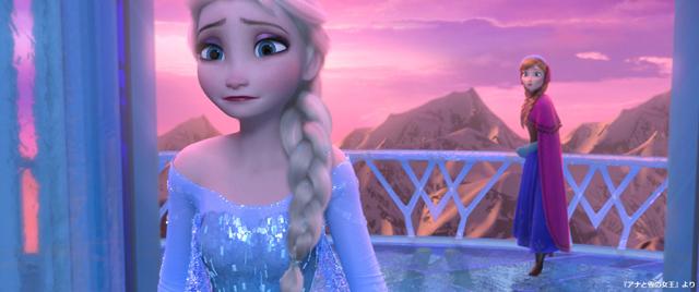 ▲前作のワンシーン:アナと雪の女王 ディズニーデラックスで配信中 (C)2019 Disney