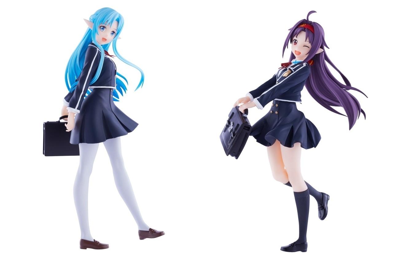 『SAO』アスナとユウキの帰還者学校制服姿ver.フィギュアが登場!