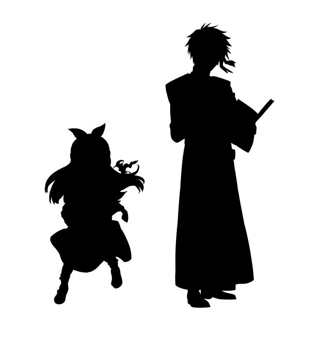『魔術士オーフェンはぐれ旅』×『本好きの下剋上』コラボ企画が始動! 描き下ろしコラボイラストのシルエットが公開-2