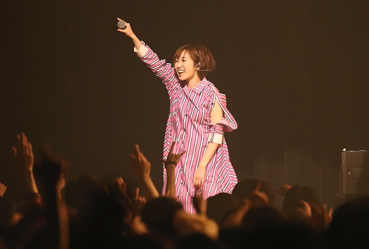 田所あずさ初のアリーナ公演レポート