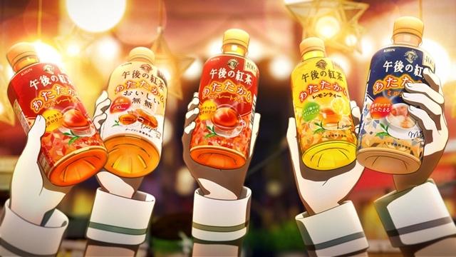 『BanG Dream!(バンドリ!)』×「キリン 午後の紅茶」コラボCM公開! 全編描き下ろし、初の企業コラボ楽曲「White Afternoon」も披露-13