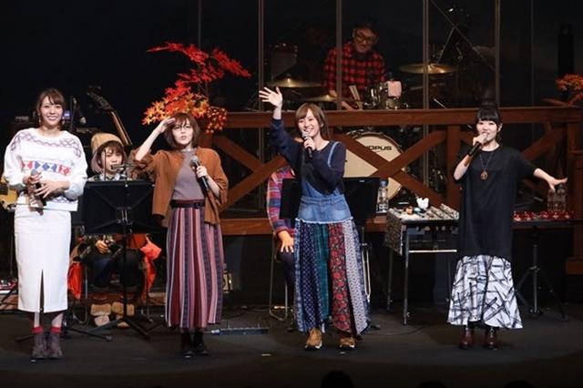 「ゆるキャン△音楽会2019」オフィシャルレポート到着! 劇伴の生演奏に加え、花守ゆみりさん、東山奈央さん、原紗友里さん、豊崎愛生さんによる朗読劇も