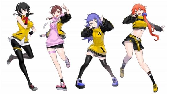 ▲公開された新キャラクタービジュアル