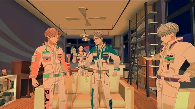 アニメでもない実写でもない、全編ヴァーチャル空間で撮影された3Dホームコメディショートドラマ『漂流兄弟』が2020年1月より配信!5人組ボーイズグループ『学芸大青春(ガクゲイダイジュネス)』が出演