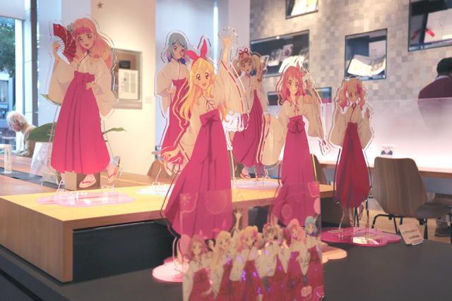 「オールアイカツ!ミュージアム」のフォトレポートをお届け☆ 原画&グッズの展示やアイカツ神社!も登場