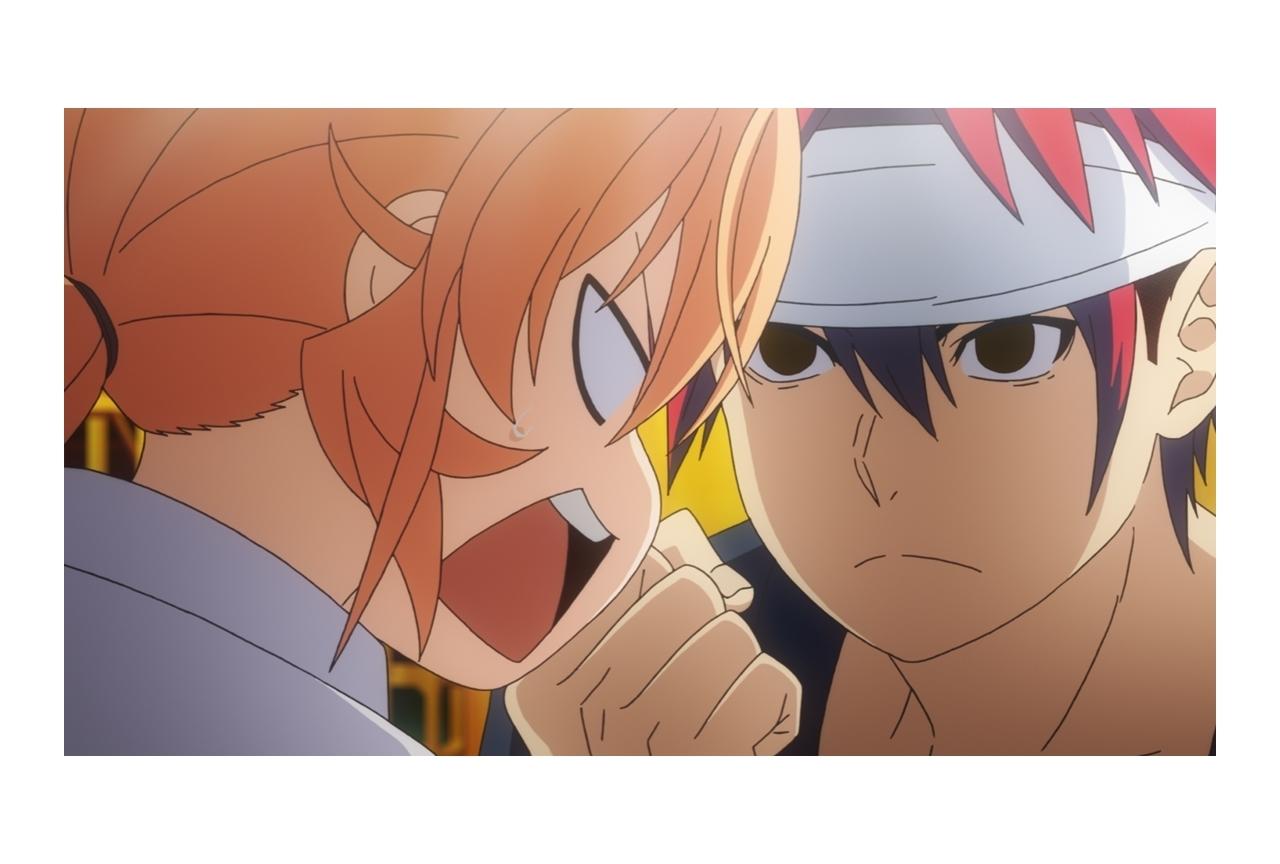 秋アニメ『食戟のソーマ 神ノ皿』第10話の場面カット・あらすじ公開