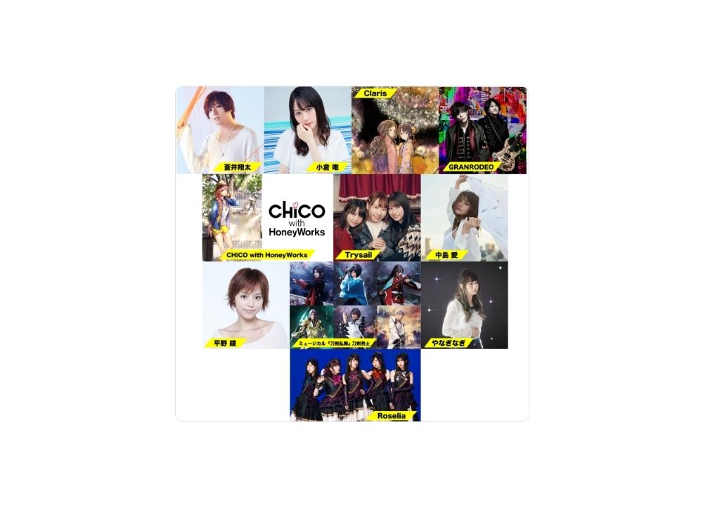 『オダイバ!!超次元音楽祭』出演アーティスト第2弾解禁!