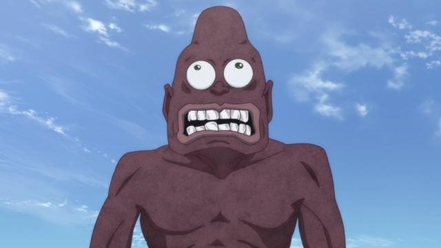 『ゲゲゲの鬼太郎』第85話「巨人ダイダラボッチ」より先行カット到着! ダイダラボッチを専門に研究している門倉という男性に出会い……