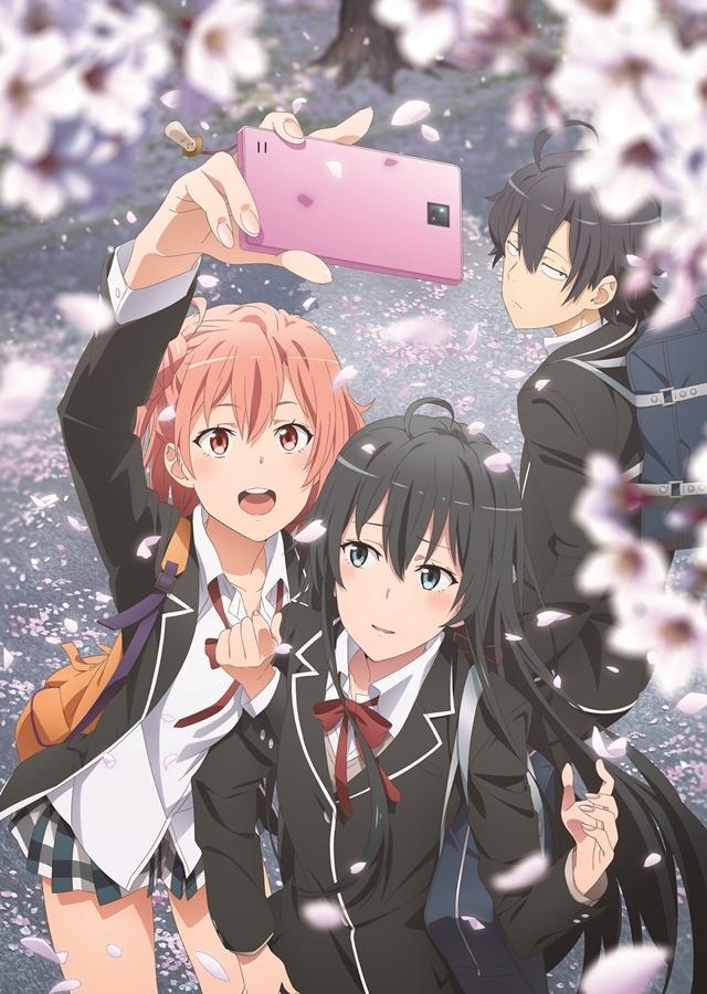 TVアニメ第2期『やはり俺の青春ラブコメはまちがっている。続』全13話が12月23日から27日の5日間TOKYO MXで再放送決定!