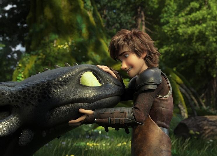 ドリームワークス最新作『ヒックとドラゴン 聖地への冒険』本編映像到着