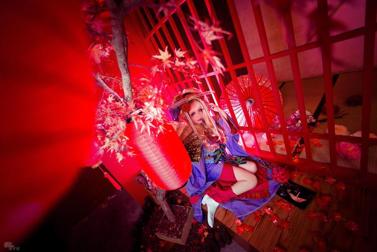 新年最初のコスプレピックアップは「花魁」! 妖艶な雰囲気を醸し出すコスプレ写真を厳選しました!-5