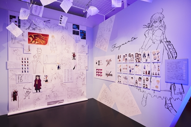 「TYPE-MOON展 Fate/stay night -15年の軌跡- 」内覧会&川澄綾子さんら声優陣登壇のテープカットイベントをレポート|『月姫』からTYPE-MOONの歩みを辿る何もかもが見逃せない空間!-16
