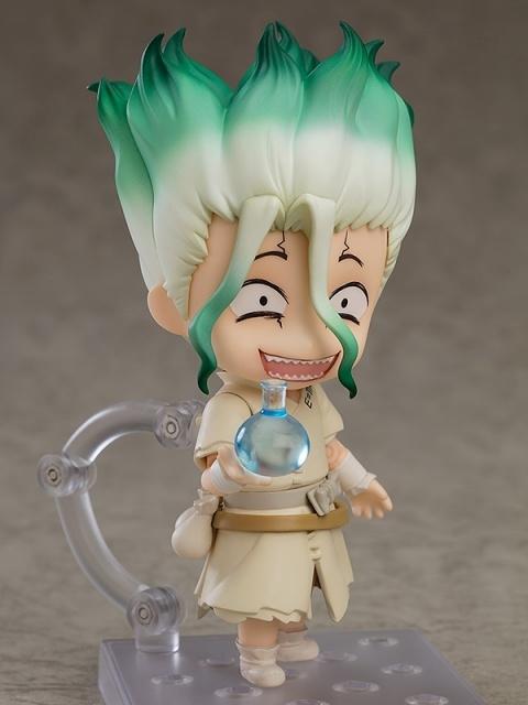 TVアニメ『Dr.STONE』』より、主人公の「石神千空」がねんどろいどになって登場! 科学復興を夢見るワルい笑顔に注目!【今なら18%OFF!】