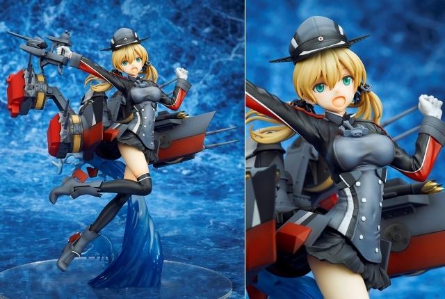大人気ブラウザゲーム『艦隊これくしょん -艦これ-』より、重巡洋艦「Prinz Eugen(プリンツ・オイゲン)」がフィギュア化! このクオリティ……ダンケダンケ♪【今なら18%OFF!】
