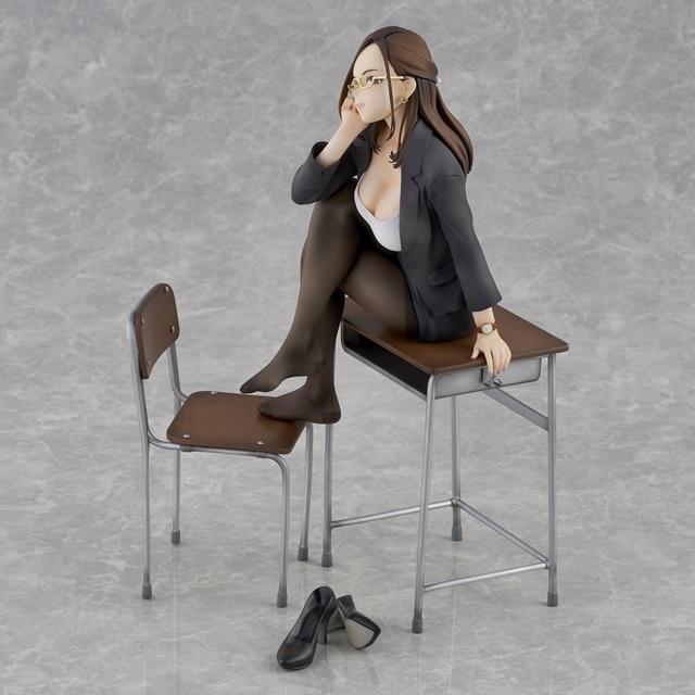 ショートアニメ『みるタイツ』より、「奥墨ユイコ」のフィギュアが登場! 五月病が予想されるアナタを癒やしにきてくれる……!【今なら12%OFF!】-3